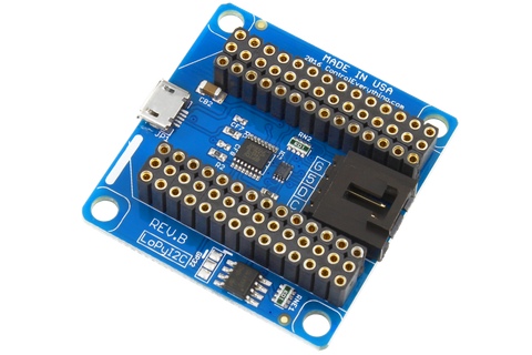 I2C Shield for WiPy2 & LoPy With USB Programming Port