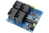 4 Channel SPST Arduino Relay Shield