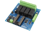 High Current DPDT Relay Arduino Shield