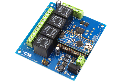 SPDT Arduino Relay Shield