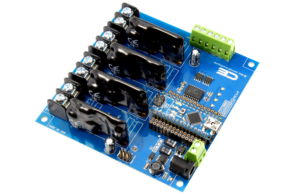 Solid state channel relay controller for arduino nano
