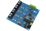 Solid-State Relay Shield for Arduino Nano I2C 4-Channel SPST Host Controller + 4 Programmable GPIO