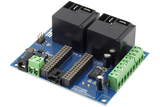 Relay Shield for Arduino Nano I2C 2-Channel 30-Amp SPST 6 Programmable Digital Input Output