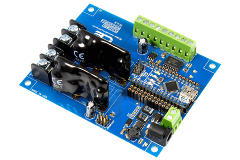 Solid-State Relay Shield for Arduino Nano I2C 2-Channel SPST Host Controller + 6 Programmable GPIO