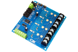 Solid-State Relay Shield Cross-Planform I2C 4-Channel SPST Host Controller + 4 Programmable GPIO