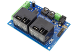 I2C Relay Controller 2-Channel 30-Amp SPST 6 Programmable Digital Inputs/Outputs