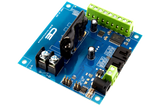 Solid-State Relay Shield Cross-Planform I2C 1-Channel SPST Host Controller + 7 Programmable GPIO