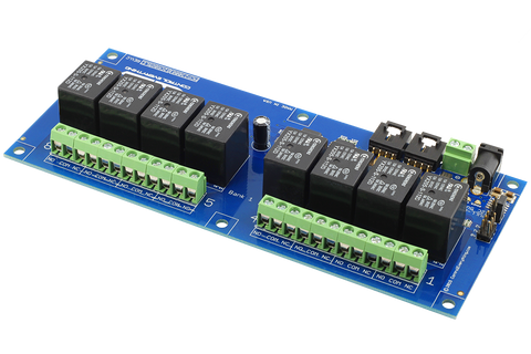 8-Channel Relay Controller for I2C