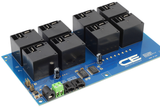 I2C Relay Controller 8-Channel 30-Amp SPST