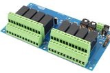 8 Channel Pi Web Controlled Relay Shield