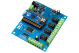 Relay Shield for Arduino Micro I2C 4-Channel Signal Relay 1A SPDT 4 Programmable Digital Inputs/Outputs
