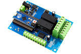 Relay Shield for Arduino Micro I2C 2-Channel DPDT 5-Amp 6 Programmable Digital Input Output