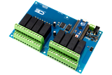 Relay Shield for Arduino Micro I2C 8-Channel DPDT 5-Amp