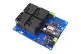 Bluz Bluetooth LE Relay Shield High-Power 4-Channel 20-Amp