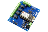 Relay Shield for Particle Electron I2C 4-Channel SPDT 1-Amp with Cellular and USB Interface + 4 Programmable GPIO