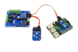 Raspberry Pi 3 I2C Light Sensor and Relay Shield 2-Channel 1-Amp