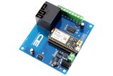 Relay Shield for Particle Electron I2C 1-Channel SPDT 20-Amp with Cellular and USB Interface + 7 Programmable GPIO