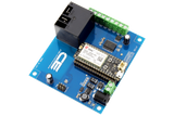 Relay Shield for Particle Electron I2C 1-Channel SPST 30-Amp with Cellular and USB Interface + 7 Programmable GPIO