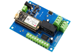 Relay Shield for Particle Electron I2C 1-Channel DPDT 5-Amp with Cellular and USB Interface + 7 Programmable GPIO