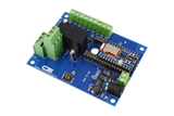 1-Channel DPDT Relay Shield using Bluz Bluetooth BLE