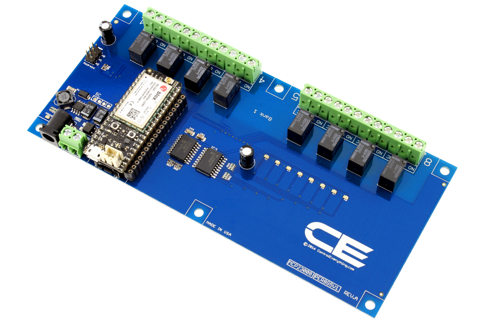 8-Channel Relay Controller for IoT