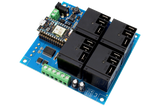 High-Power Relay Shield for Particle Photon I2C 4-Channel SPDT 20-Amp with WiFi and USB Interface + 4 Programmable GPIO