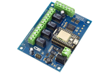 Relay Shield for Particle Photon I2C 4-Channel SPDT 1-Amp Signal Relay with WiFi and USB Interface + 4 Programmable GPIO