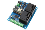 High-Power Relay Shield for Particle Photon I2C 2-Channel SPDT 20-Amp with WiFi and USB Interface + 6 Programmable GPIO