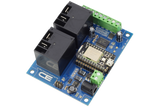 High-Power Relay Shield for Particle Photon I2C 2-Channel SPST 30-Amp with WiFi and USB Interface + 6 Programmable GPIO