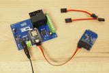High-Power Relay Shield for Particle Photon I2C 1-Channel SPDT 20-Amp with WiFi and USB Interface + 7 Programmable GPIO