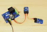 High-Power Relay Shield for Particle Photon I2C 1-Channel SPST 30-Amp with WiFi and USB Interface + 7 Programmable GPIO