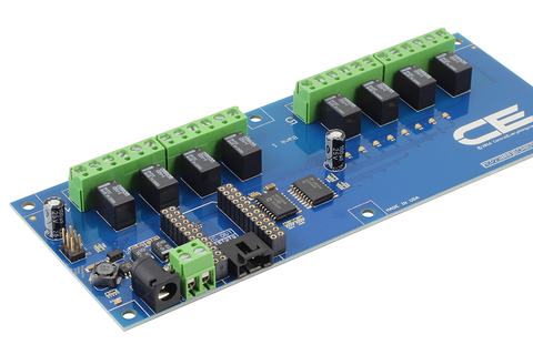 8Channel Relay Controller for Particle Photon