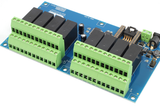 High Current 8 Channel Wifi Controlled Relay Module