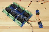 Sensor Controlled 24 Channel Arduino Relay Shield