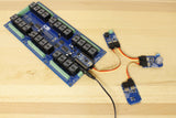 Relay Shield Arduino Nano I2C Gas Sensor and Buzzer