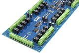 Relay Shield for Arduino Nano I2C 24-Channel Signal Relay 1A SPDT 8 Programmable Digital Inputs/Outputs