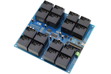 Relay Shield for Arduino Nano I2C 16-Channel 30-Amp SPST