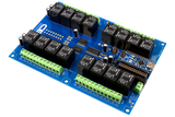 16-Channel I2C Relay Shield for Arduino Nano