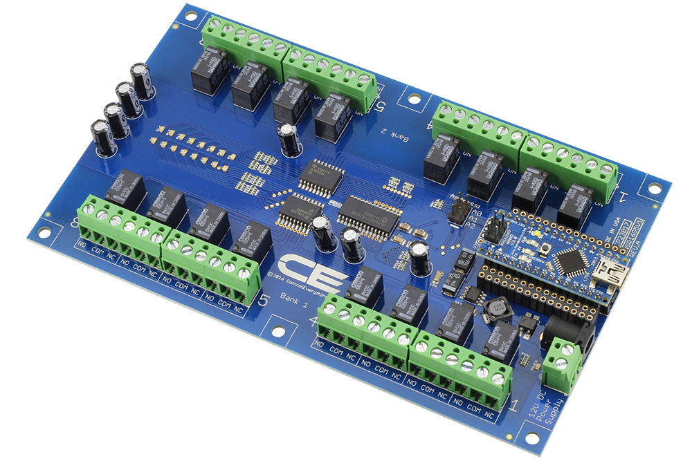 16 Channel Relay Controller For Arduino Nano