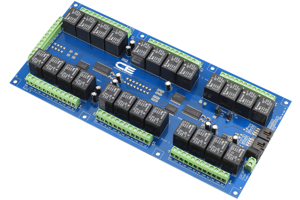 24 Channel Relay Controller For I2c