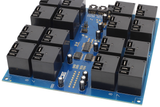 I2C Relay Controller 16-Channel 20-Amp SPDT
