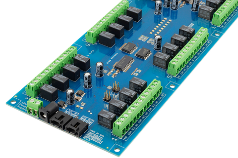 32-Channel Relay Controller for I2C on