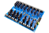 Solid-State Relay Shield Cross-Planform I2C 16-Channel SPST Host Controller