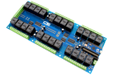 Relay Shield for Arduino Micro I2C 24-Channel SPDT 10-Amp 8 Programmable Digital Input Output