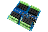 Relay Shield for Arduino Micro I2C 16-Channel DPDT 5-Amp