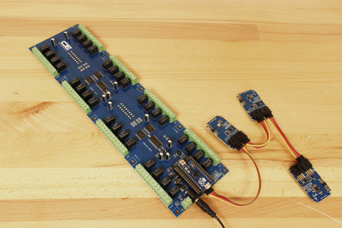 32-Channel Relay Controller for Arduino Micro