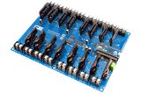 Solid State 16-Channel Relay Controller for Arduino Micro