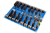 Solid-State Relay Shield for Arduino Micro I2C 16-Channel SPST Host Controller