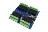 Bluz Bluetooth LE Cloud Controlled 16-Channel DPDT Relay Board