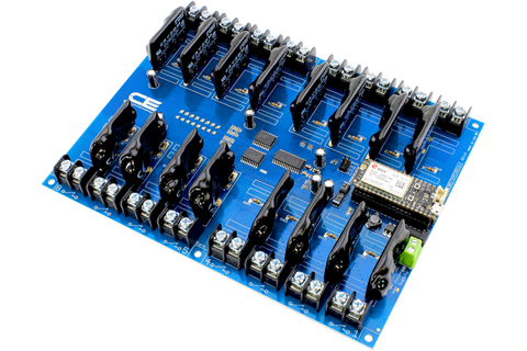 16-Channel Cellular Solid State Relay Shield for Particle Electron